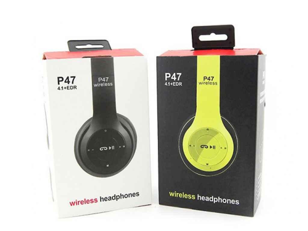 315312. Навушники бездротові P47 ТМ